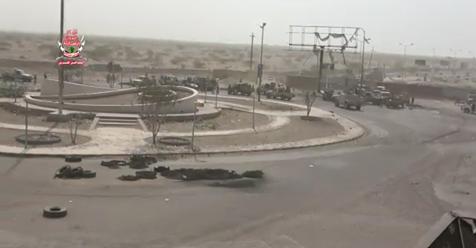 إشتباكات عنيفة بين العمالقة والميليشيات بالقرب من مستشفى 22 مايو بالحديدة