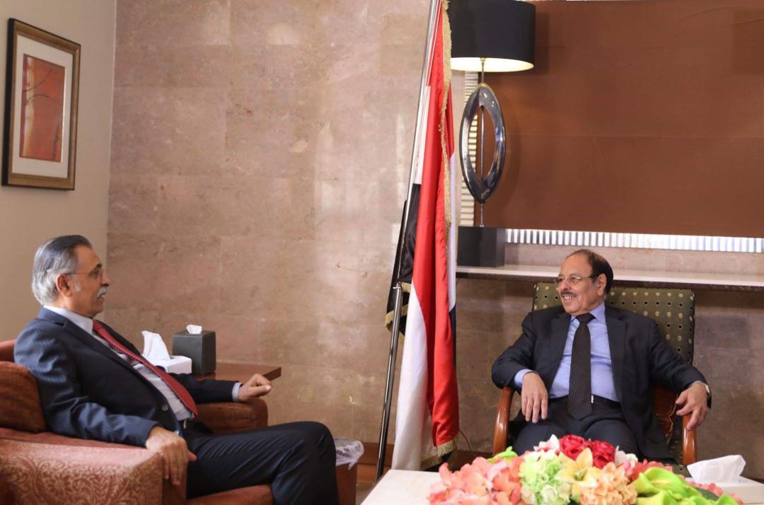 نائب رئيس الجمهورية يلتقي نائب رئيس مجلس النواب