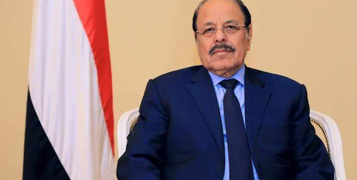 نائب رئيس الجمهورية يشيد بانتصارات أبطال الجيش في محافظة الضالع
