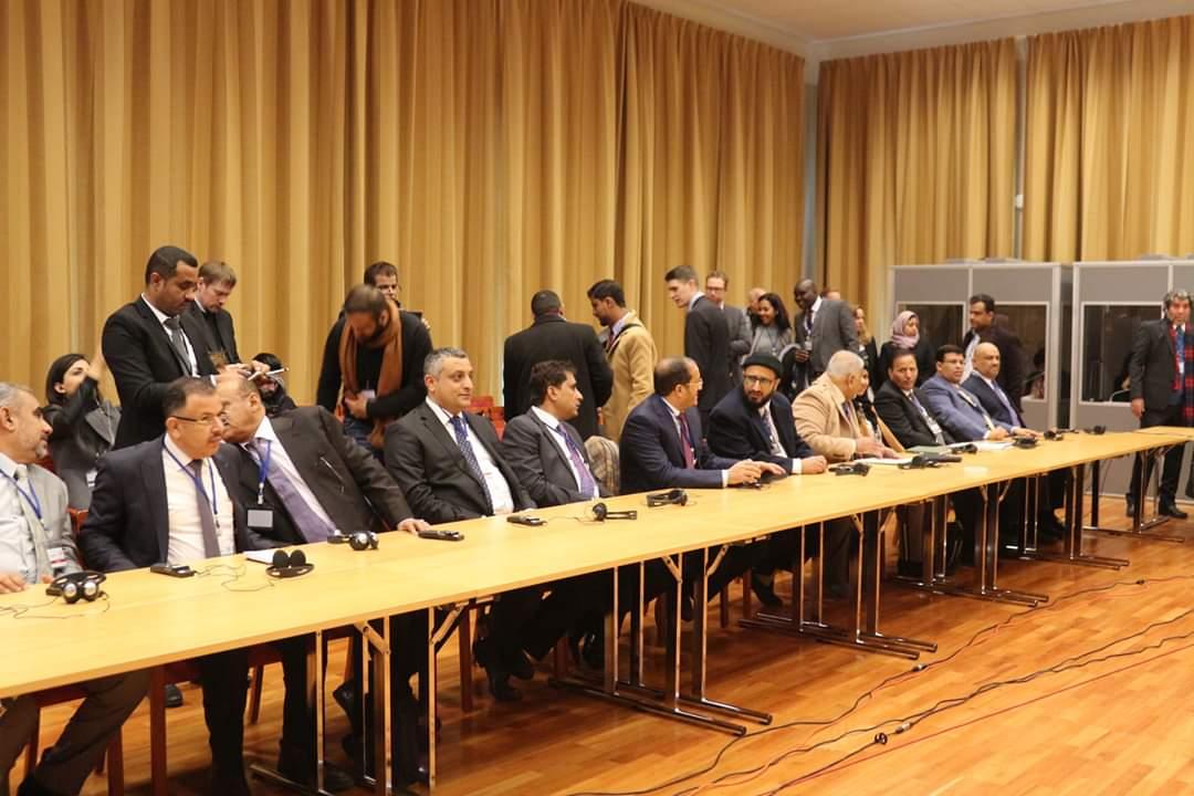 الفريق الحكومي يشارك بمشاورات السلام في السويد بتسيير من الأمم المتحدة