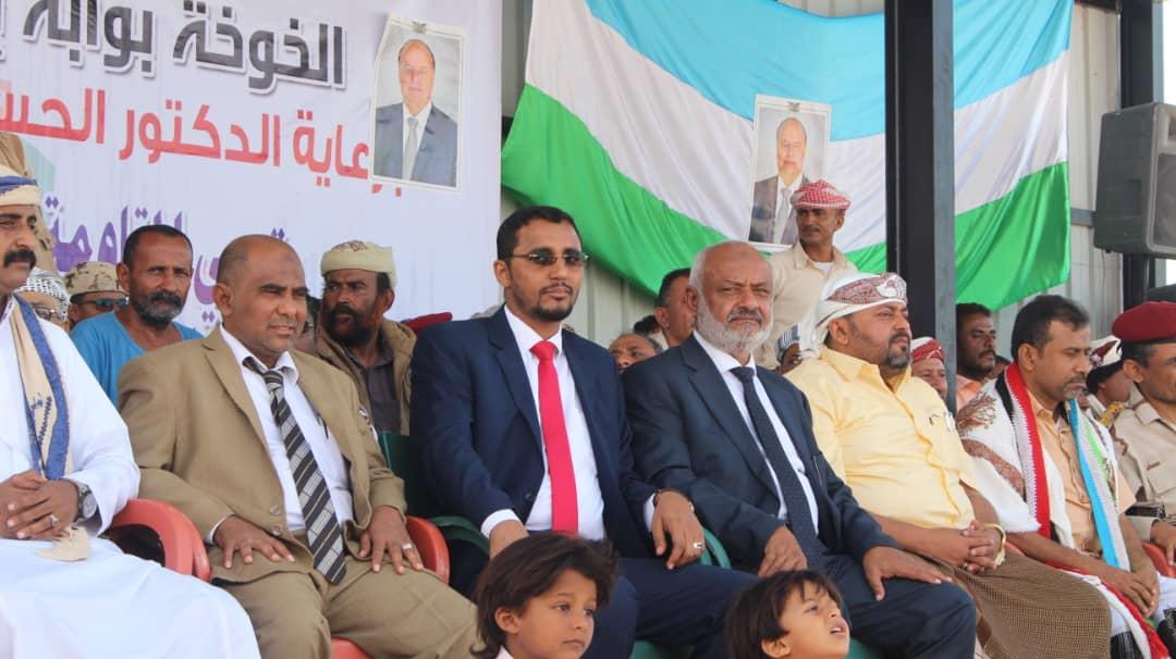 محافظة الحديدة تحتفي بالذكر الأولى لتحرير مدينة الخوخة