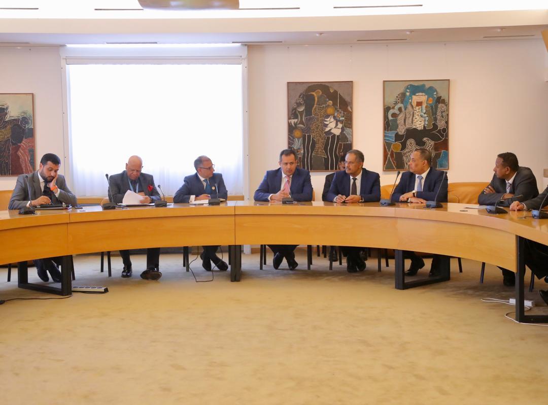 رئيس الوزراء يستقبل سفراء المجموعة العربية لدى الأمم المتحدة